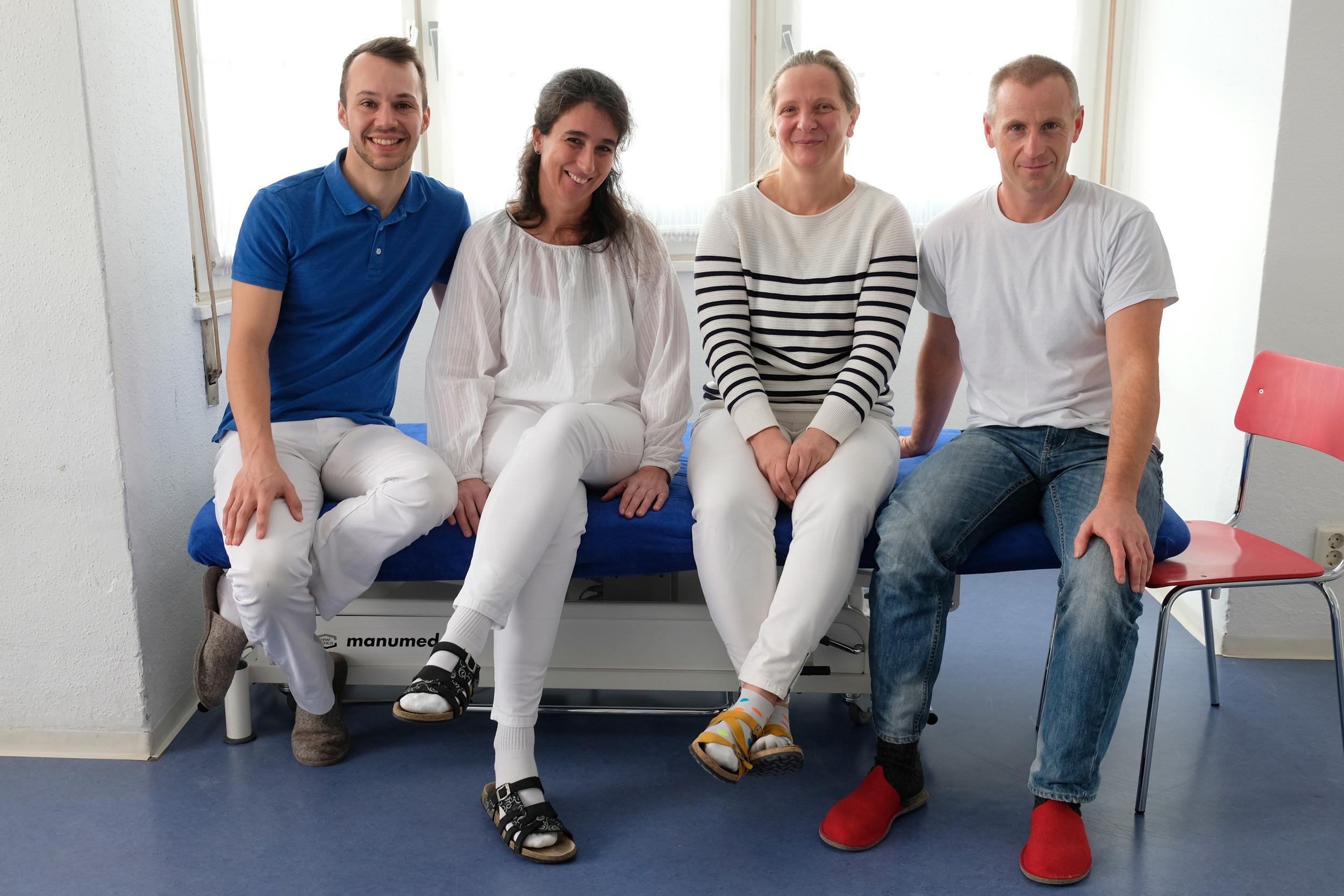 Praxis Schneeburggasse - Team